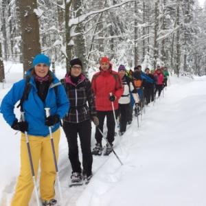 170115 Schneeschuhtour Plöckenstein 1