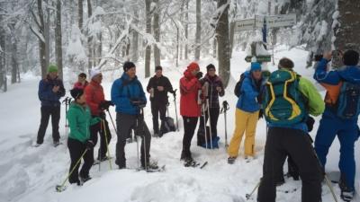 170115 Schneeschuhtour Plöckenstein 2