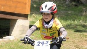 Hannah schaffte in der U9w einen hervorragenden 3. Platz