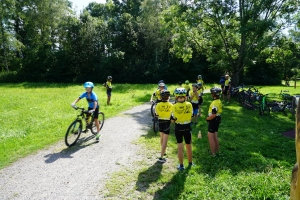 Tag 1 Bike & Run mit Verena