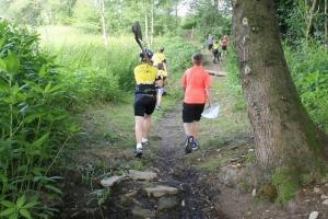 Tag 1 Trailbau mit Niklas
