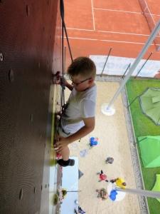 Tag 2 Nachmittag Klettern am RSC Turm