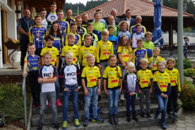 Alle geehrten Teilnehmer des Spk-MTB-Cups 2018